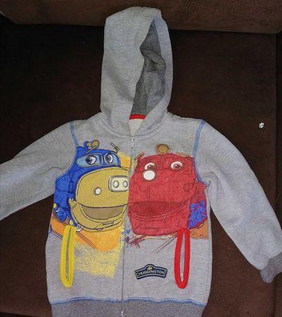 Bluza z kapturem sweter 98-104