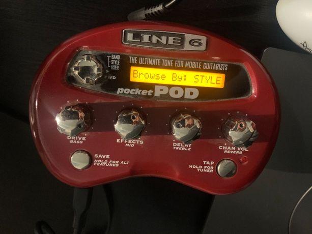 Гитарный процессор Line 6 Pocket Pod, Line6