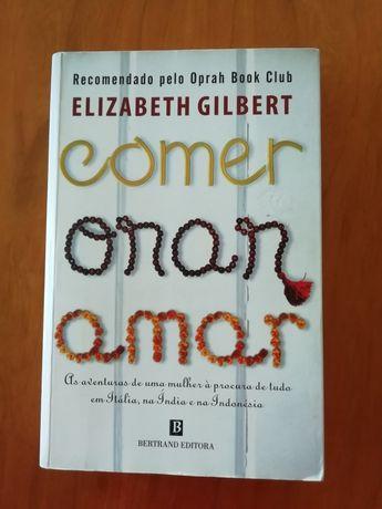 """Livro """" Comer, orar, amar"""""""