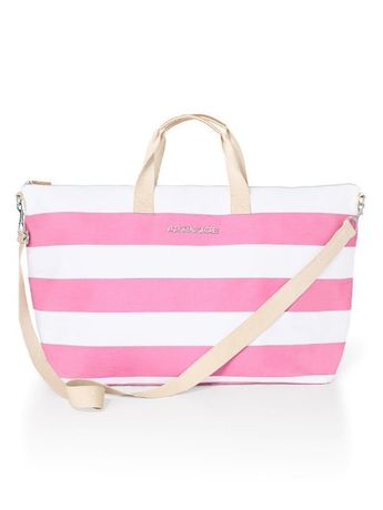 Из сша! летняя пляжная розовая сумка Victoria's Secret оригинал!