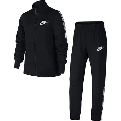 Dres dla dzieci Nike G TRK Suit Tricot czarny 939456-różne rozmiary