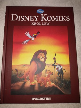 Król Lew Komiks Disney