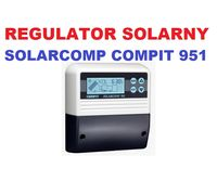 Regulator Sterownik Solarny SolarComp Compit 911 - 951 Kolektory