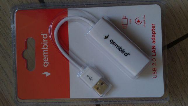 Adapter sieciowy USB LAN Gembird