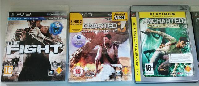 Sprzedam bardzo tanio 13 gier na PS3 - stan idealny
