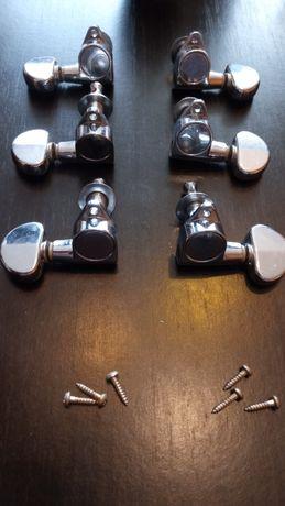 Klucze gitarrowe 3+3