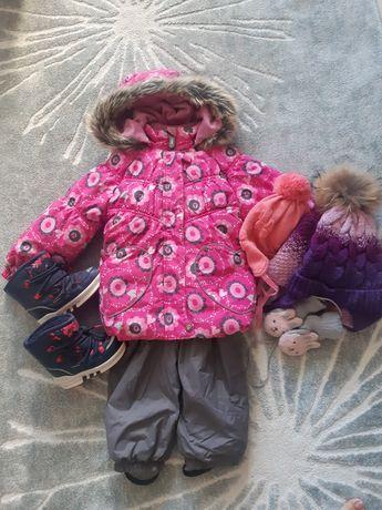 Lenne ленне 98 зимний комбинезон зима куртка и полукомбинезон