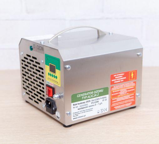 Ozonator Alicja 2 Generator Ozonu 7g/h Usuwa wirusy i zapachy
