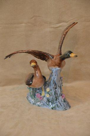 Porcelana figurka gęsi kaczki Rumunia Alba Iulia