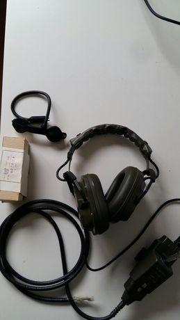 Headphones piloto exército - completo