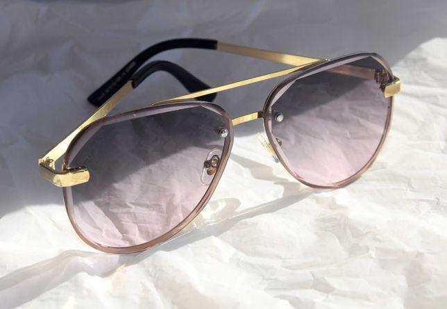 Stylowe okulary przeciwsłoneczne polaryzacyjne damskie