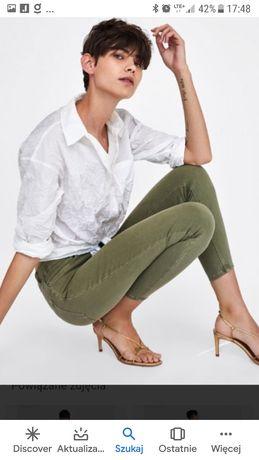 Spodnie Zara r.38