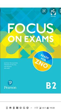 Focus on exams b2 ЗНО.Завдання, Відповіді,аудіо скрипти, cd Набір.