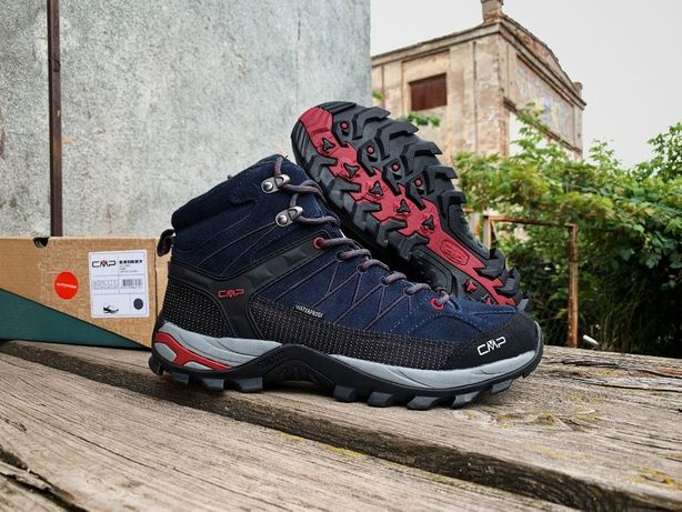 Мужские зимние термо ботинки CMP Rigel Mid Trekking (3 цвета) ОРИГИНАЛ