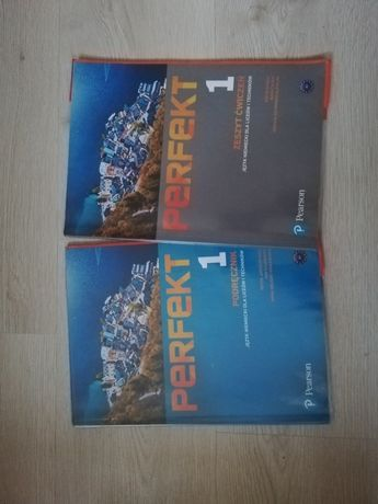 książki do liceum technikum podręcznik +ćwiczenia Perfekt niemiecki