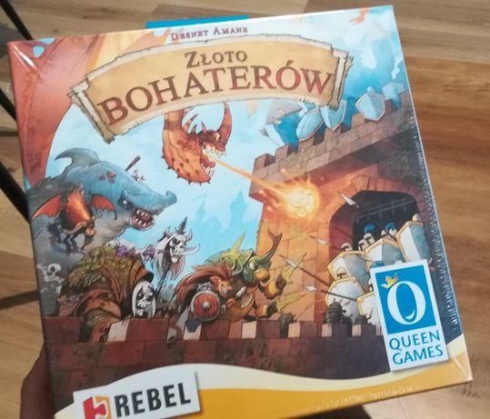Złoto Bohaterów - gra planszowa nowa