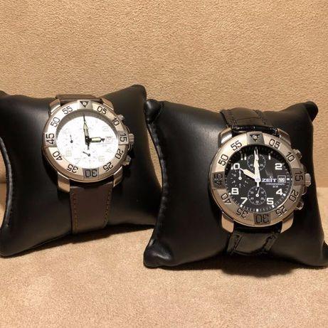 2 Relógios Zeit Cronógrafos, Nunca usados