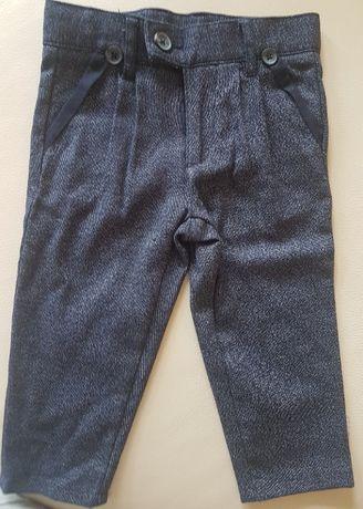 Spodnie ciepłe wizytowe NOWE roz.86 Lupilu