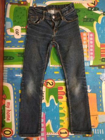 Джинсы брюки штаны для девочки на девочку рост 116 122 6 7 лет