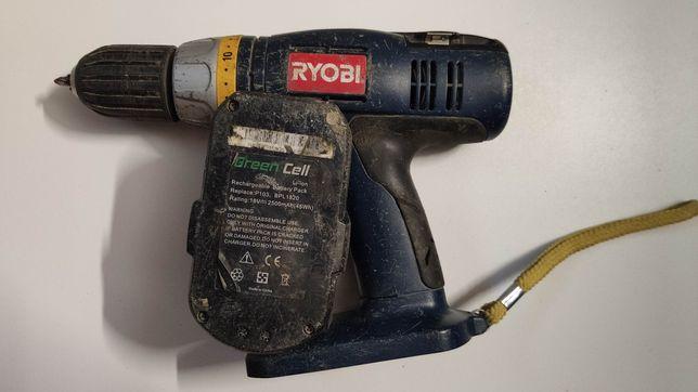 Wkrętarka Ryobi CDI 1802 18v udar bateria ładowarka