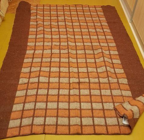Одеяло шерстяное, новое