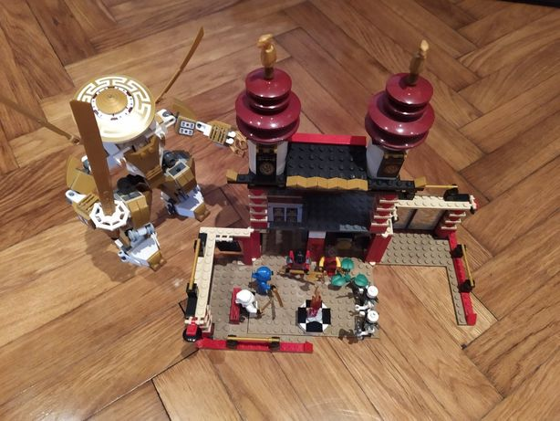 LEGO Ninjago Świątynia i robot z zestawu 70505 + 6 figurek