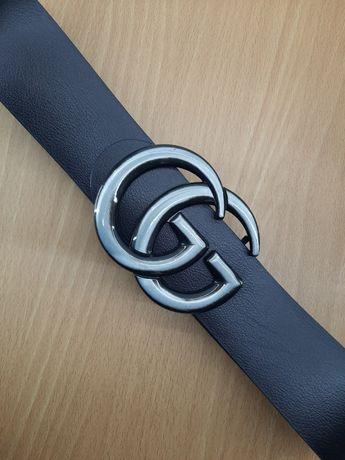 Ремень кожаный широкий Gucci 6.5 см