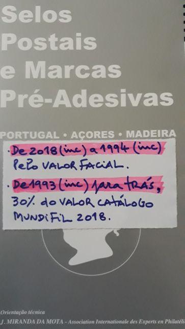 Filatelia / selos - ver descrição