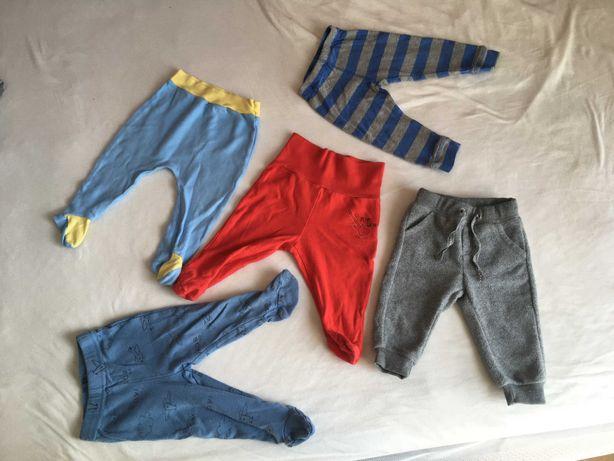 Zestaw 5 x długie spodnie dla chłopca / dziewczynki Cool Club r. 62/68