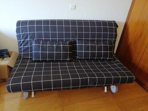 Sofá-cama do IKEA