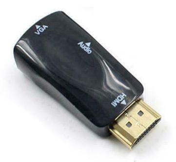 Conversor HDMI - VGA com áudio - Novo