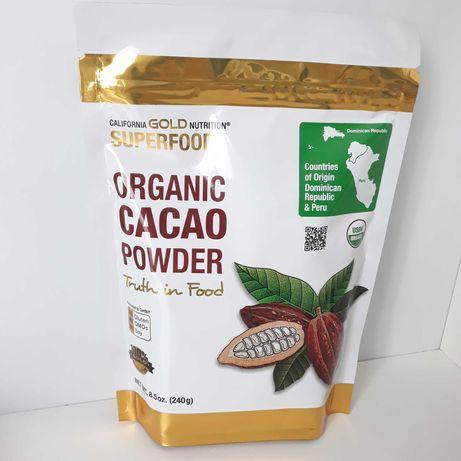 Органический какао порошок из Америки ( Iherb)