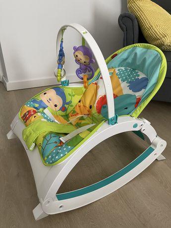 Leżaczek, bujaczek, krzesełko krzesło fotelik Fisher Price kinderkraft