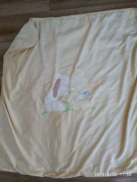Одеяло конверт велюровое