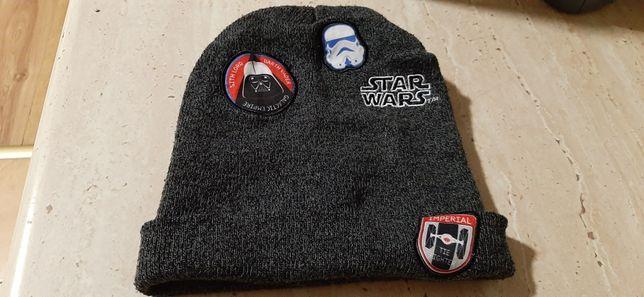 Czapka chłopięca Star Wars r.54 zimowa wysyłka