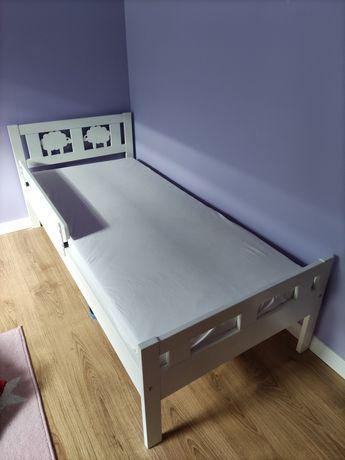 Łóżko Ikea Kritter dziecięce z materacem