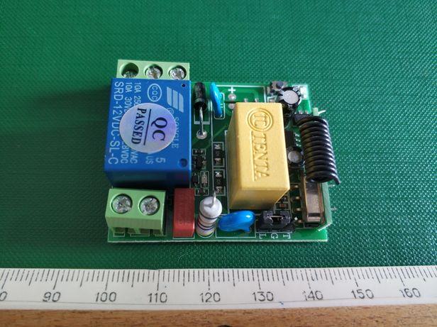 Радио реле 220В/10А. Безпроводной модуль дистанционного управления.