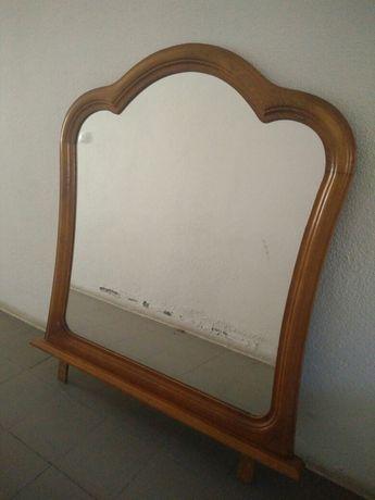 Espelho para comoda em carvalho