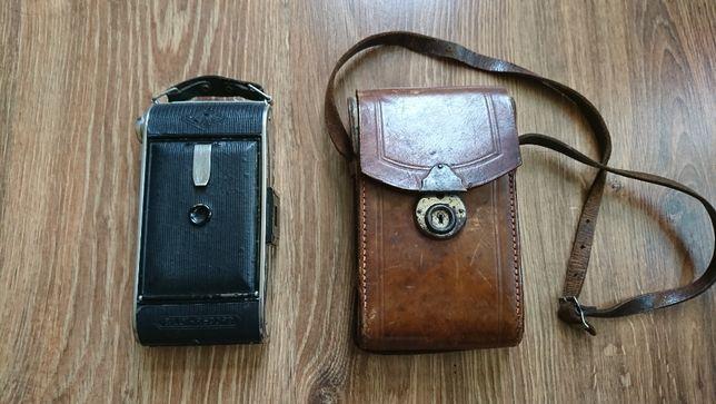 Kolekcjonerski retro aparat fotograficzny mieszkowy AGFA Billy Record