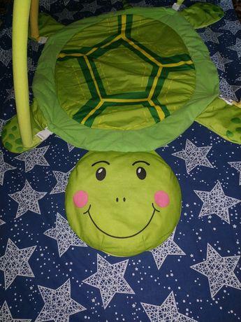 Красочный развивающий коврик для младенцев