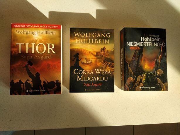 Wolfgang Hohlbein Thor Córka węża Midgardu Nieśmiertelność Anubis