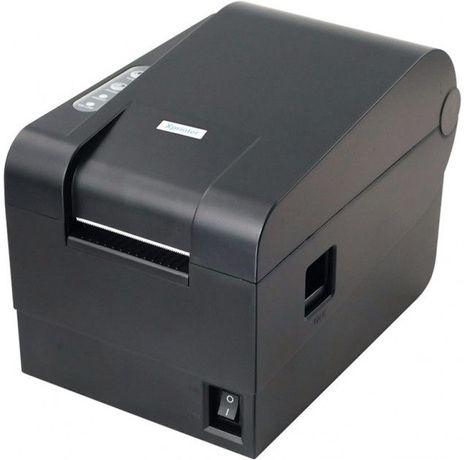 Xprinter XP-235B XP-237B термопринтер этикеток штрих-кодов наклеек