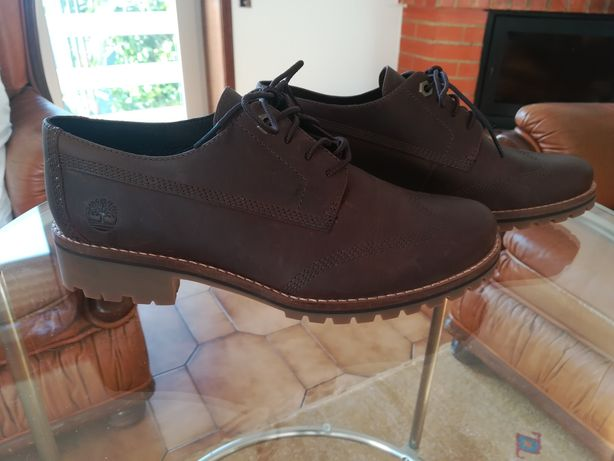 Sapatos Timberland originais, pele castanhos - novos