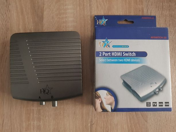Switch HDMI - 2 portowy , manualny.