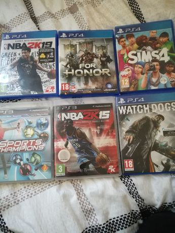 Gry Ps3 , Ps4. For honor , nba