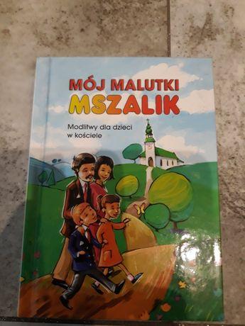 Mój malutki mszalnik książeczka dla dzieci