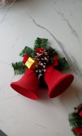 Dzwonki ozdobne bożonarodzeniowe