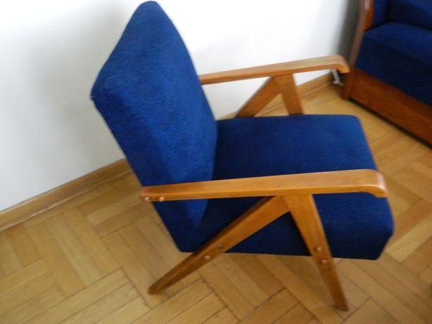 Fotele- 2 szt. granatowe- 350 zł.