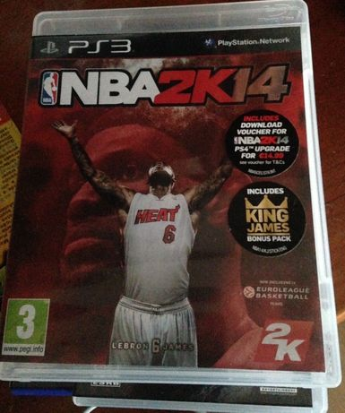 "Jogo para PS 3 ""NBA 2K14"""