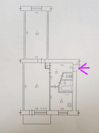 2-х комнатная квартира на Подоле
